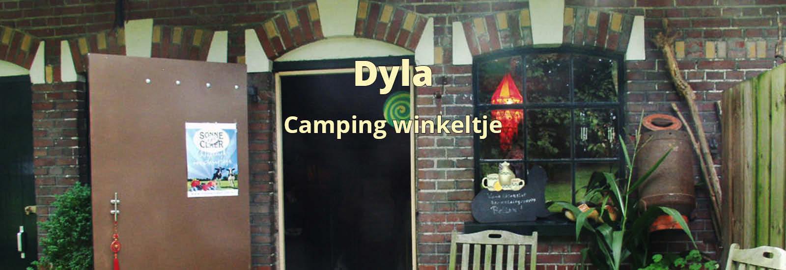 dyla camping winkeltje